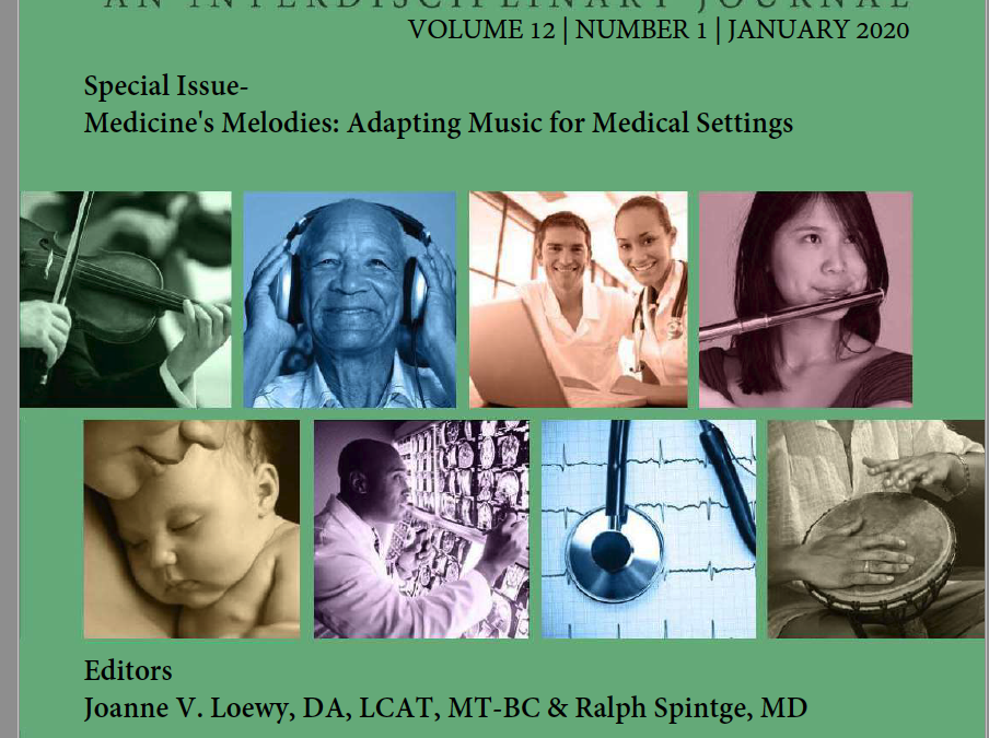Yes! Published in Music and Medicine